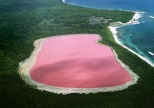 lago rosa